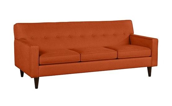 Pleasant Macys Clare Fabric Sofa 82W X 37D X 37H Color Paprika Gmtry Best Dining Table And Chair Ideas Images Gmtryco