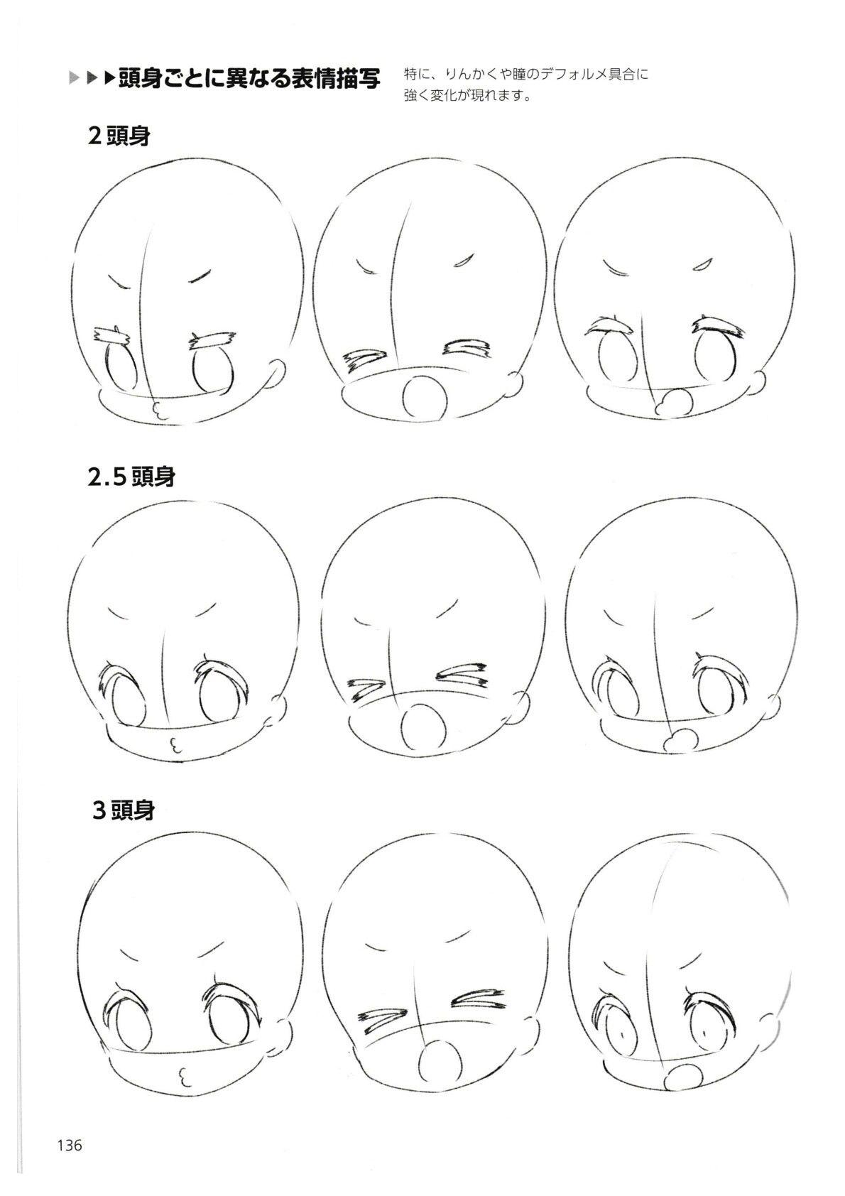 How To Draw Chibis 136 Dibujos Chibi Chibi Dibujos Tutoriales Para Dibujar Manga