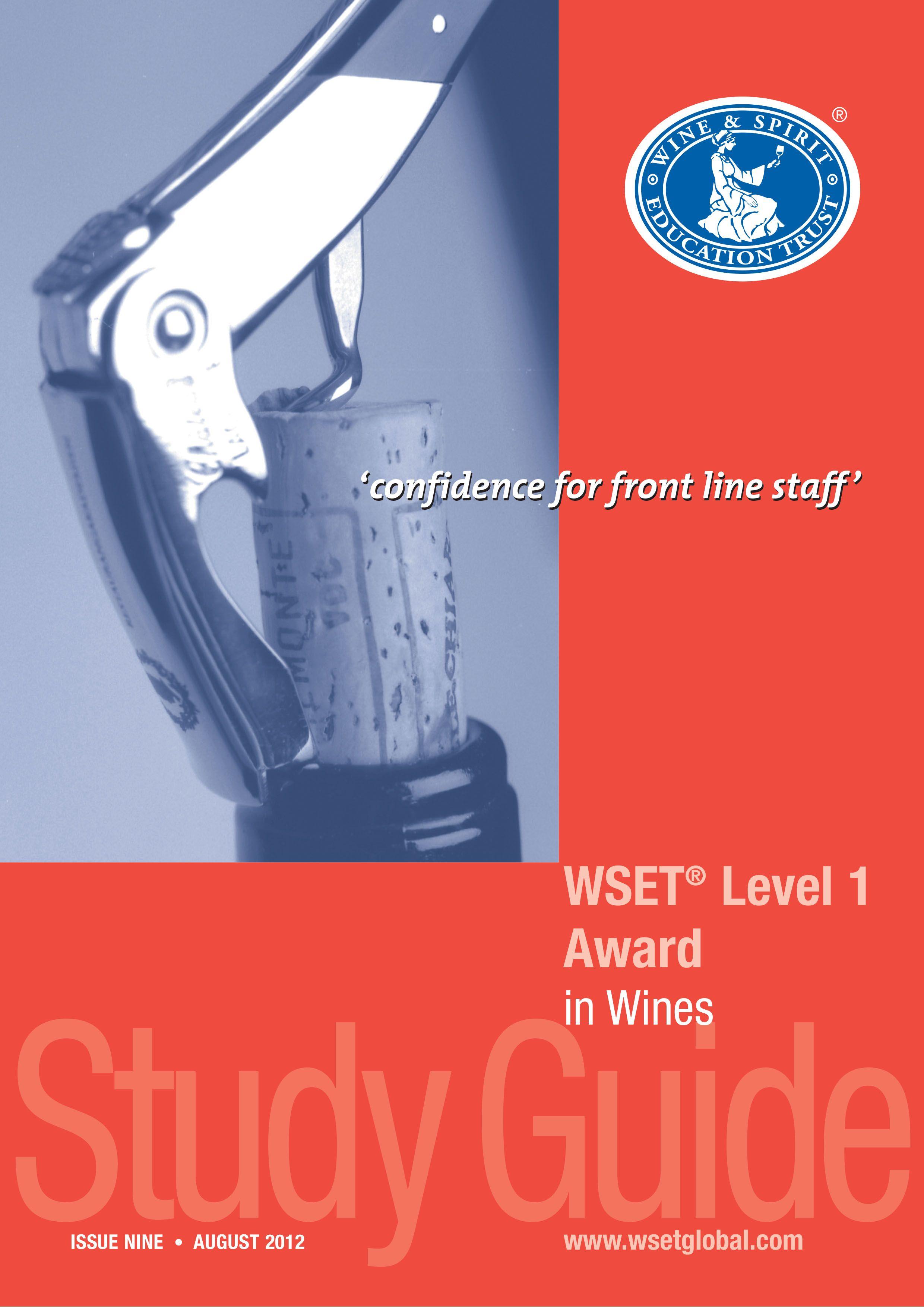 Wset Course Level 1 English Florida Wine Academy Wine Course Wine Tasting Course Wine Education