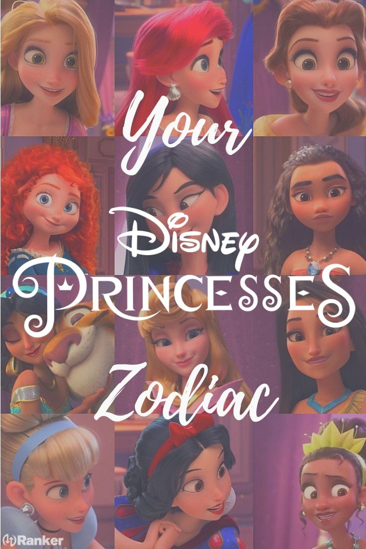 Find out your Disney princess zodiac match! Which Disney princess would you be based on your zodiac sign?