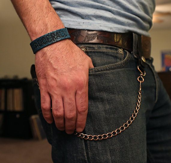 Gandhi Warhol Leather Adderall Bracelet  https://www.etsy.com/listing/234197106/gandhi-warhol-leather-adderall-leather
