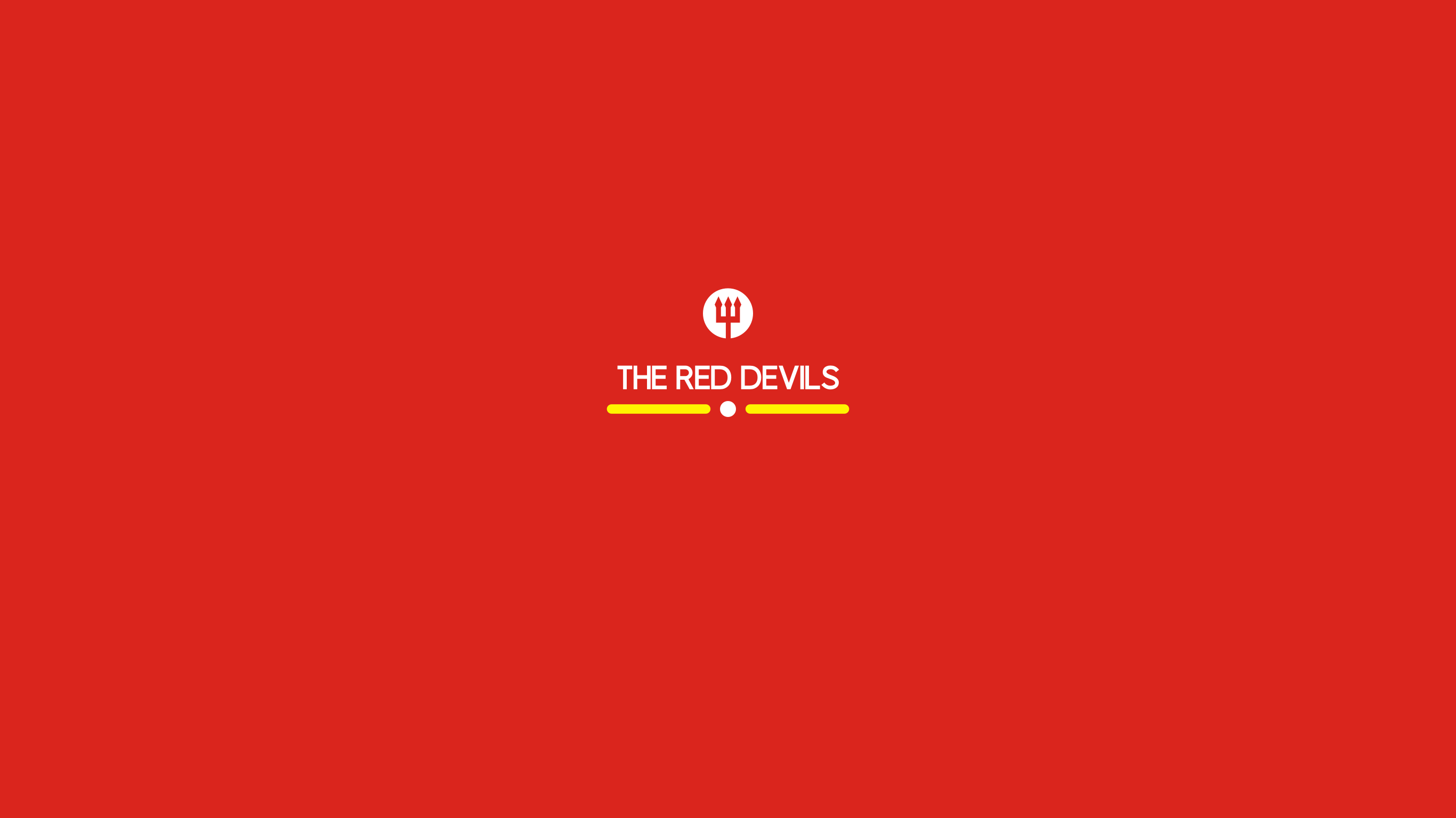 The Red Devils Simple Manchester United Wallpaper By Hamzah Zein