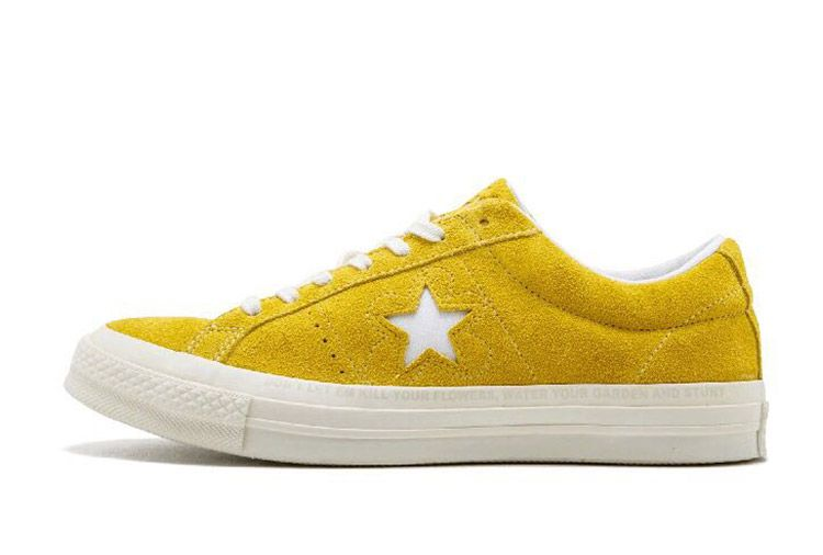 e75053cac32f Converse One Star x Golf le Fleur Bee Yellow Suede Low  converse  shoes