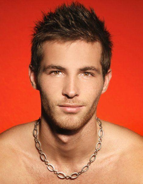 French model Arnaud Dehaynin