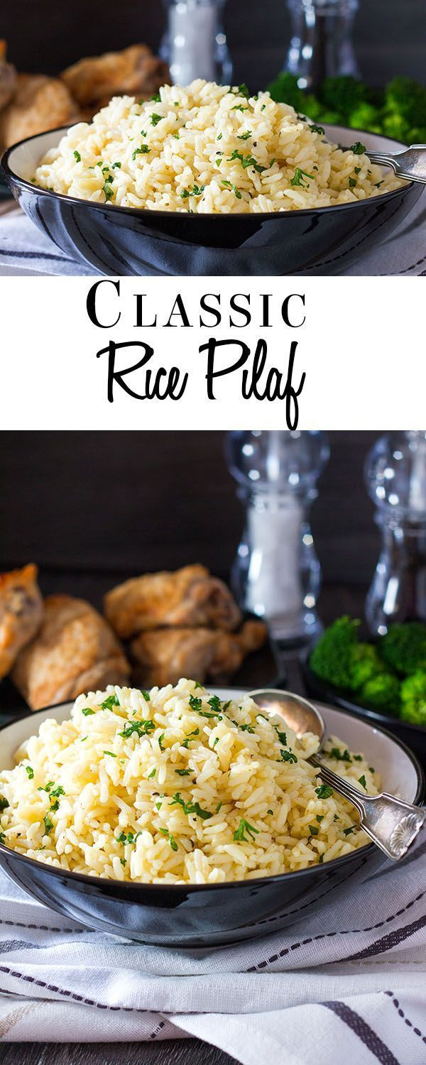 Pilaf This recipe for Rice Pilaf from Errens Kitchen is simple side dish that is a great alternative to plain white rice Its mild chicken and garlic flavors make it a ver...