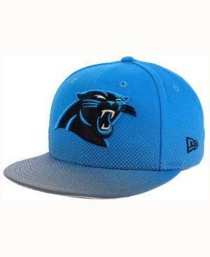 fbf56a64c844f New Era Carolina Panthers Flow Flect 9FIFTY Snapback Cap - Blue Adjustable