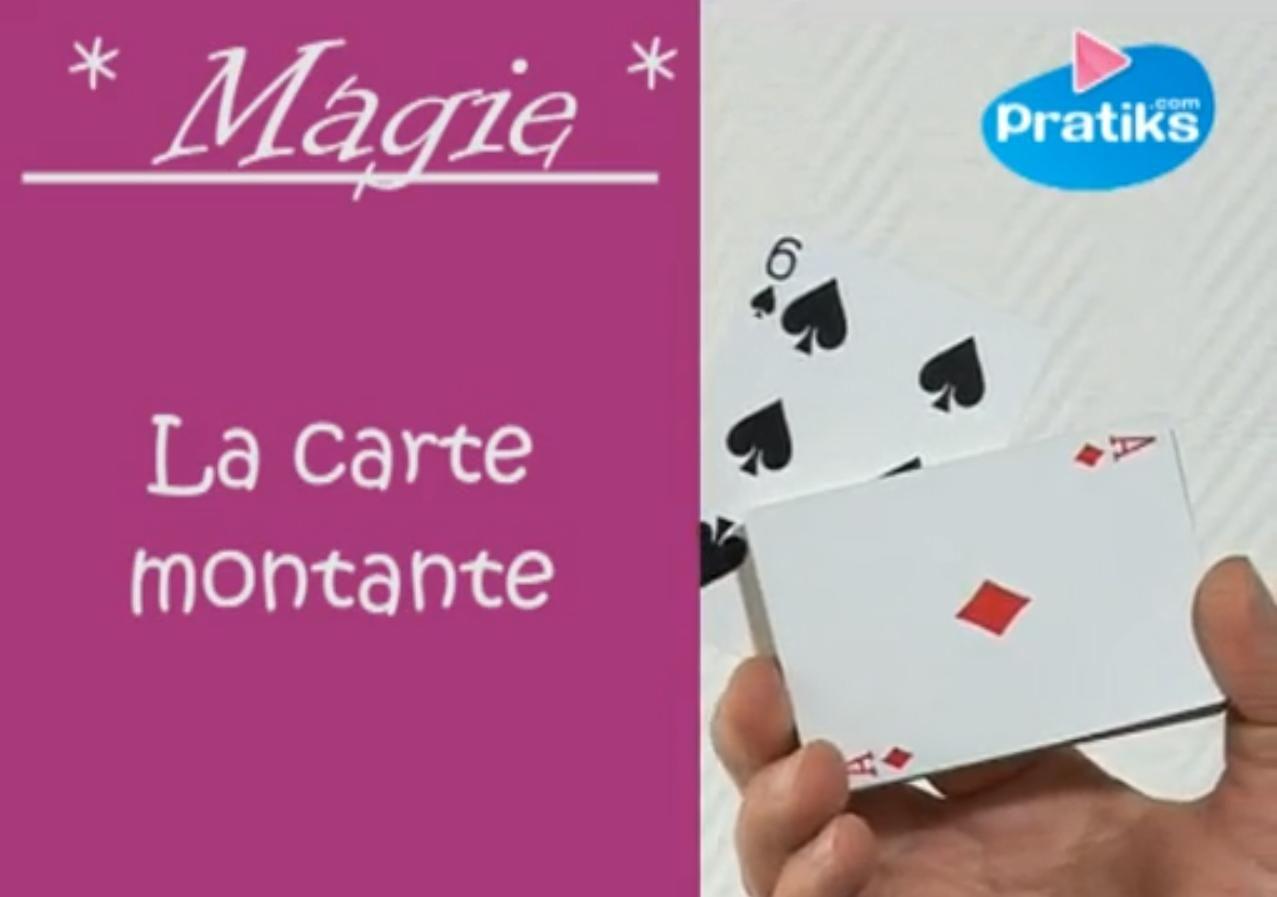 Realisez Le Tour Magique De La Carte Montante Comment Faire