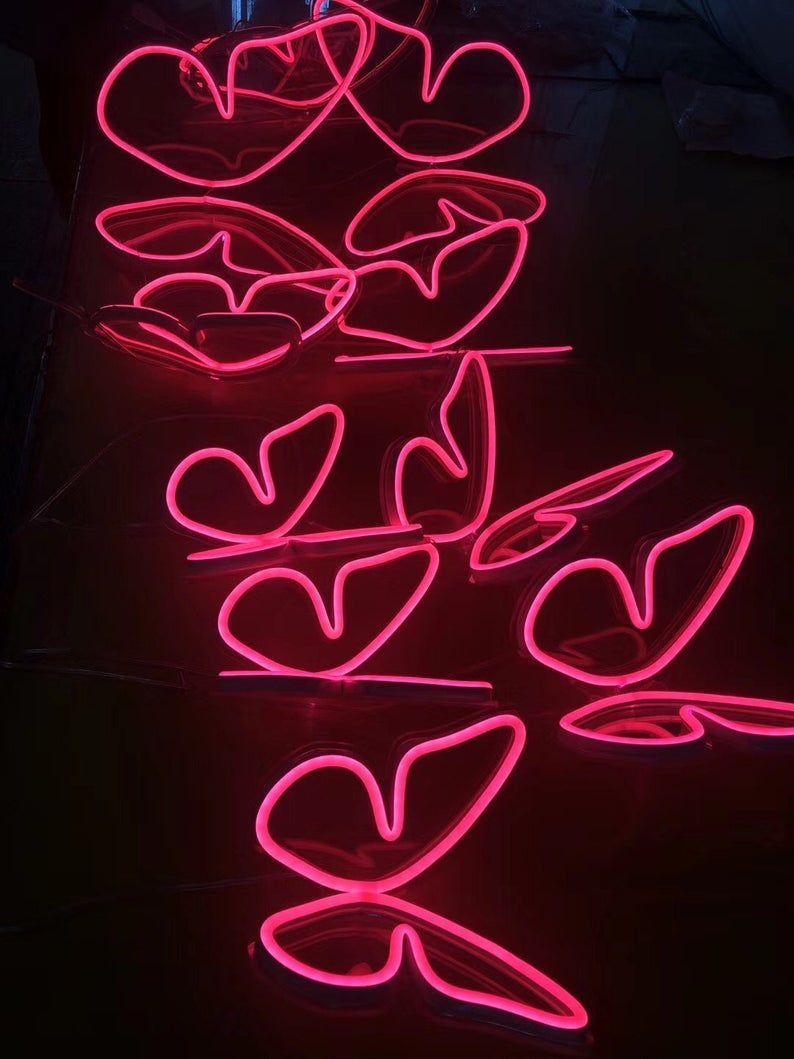 Butterfly neon lightNeon signLED neon lightaccept custom ...