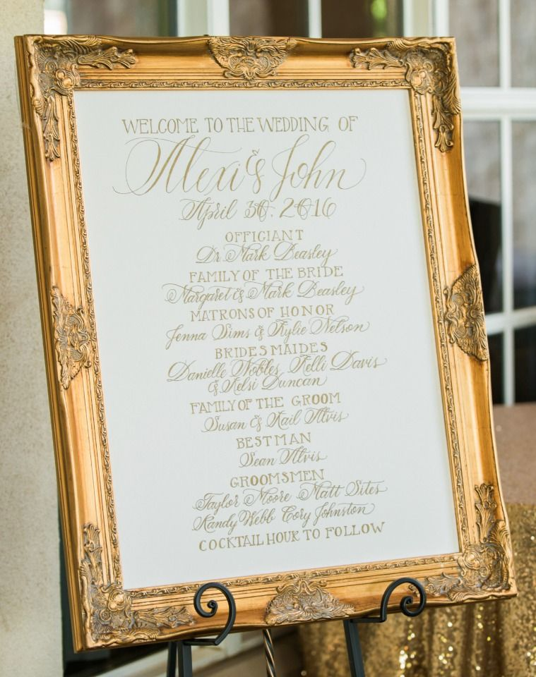 Pink Gold and Glitter Glam Wedding   Wedding programmes, Wedding and ...