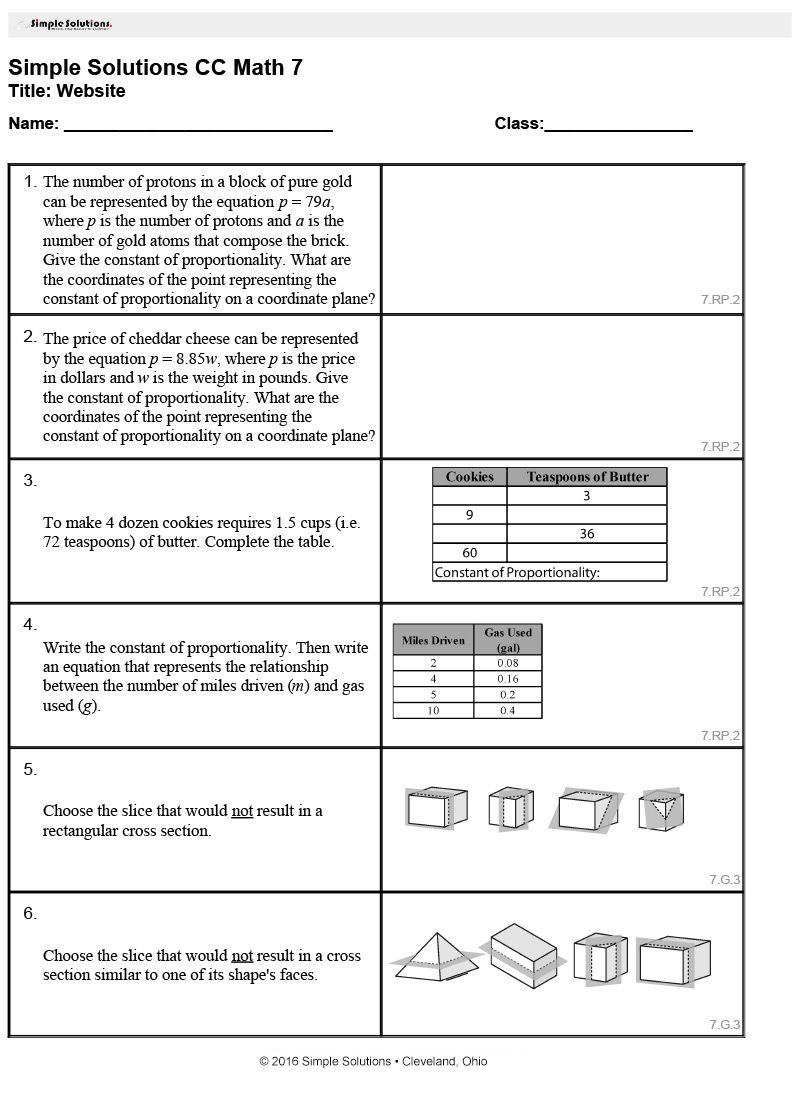 Use our Common Core Worksheet Generator to select each math – Worksheet Generator Math