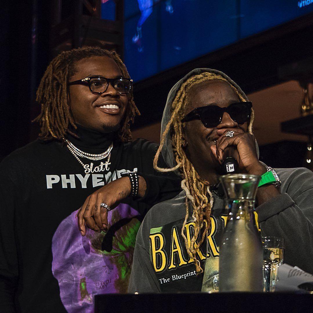 Gunna and Young Thug Young thug, Rap, Rapper