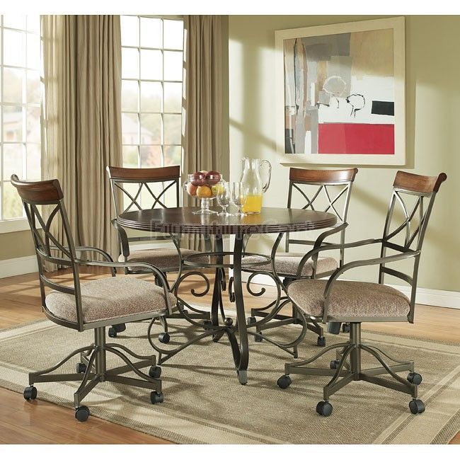 Tower Suite Round Dining Room Set Pearl Legacy Classic