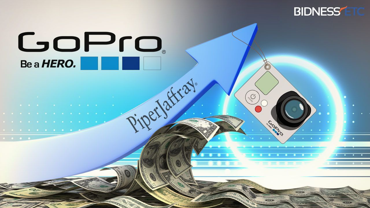 GoPro Inc (GPRO) Upgraded To Overweight At Piper Jaffray