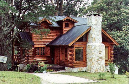 Construcción de cabañas de troncos y madera Construccion