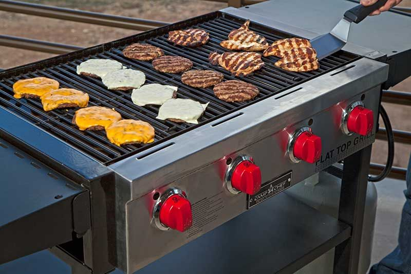 Large Patio Cooking Made Easy With New Flat Top Grill Camp Chef Flat Top Grill Camp Chef Grilling