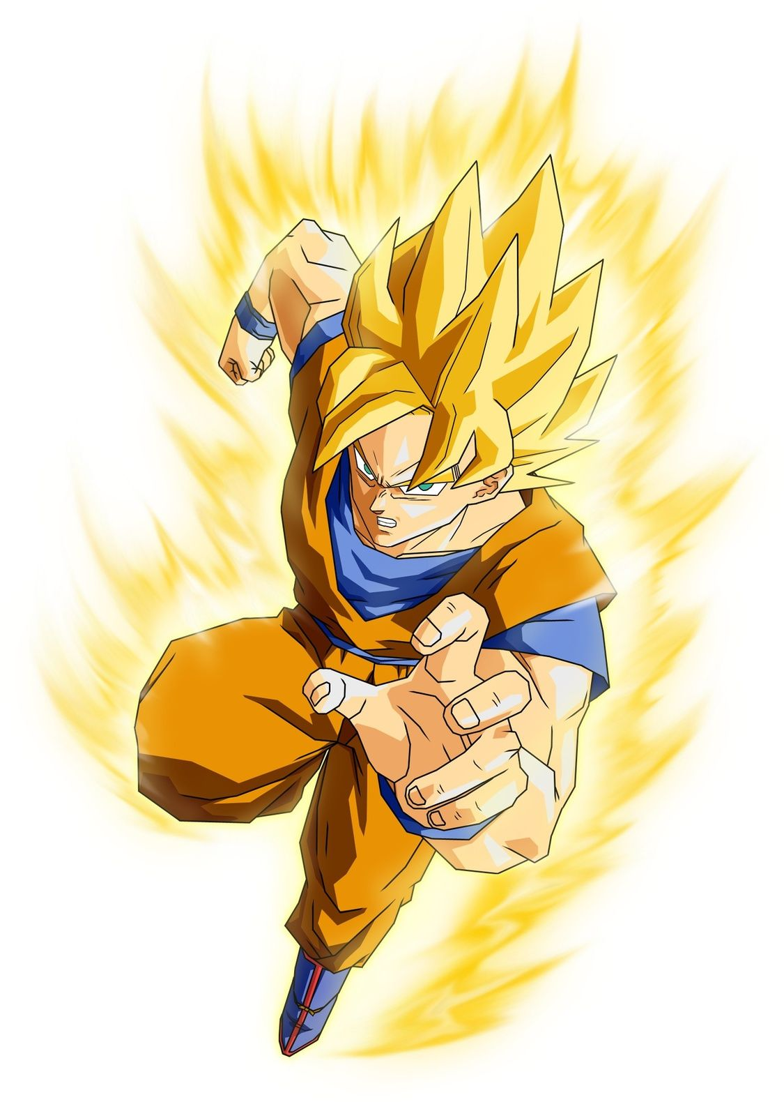 Dragon Ball Z - Goku Super Saydin