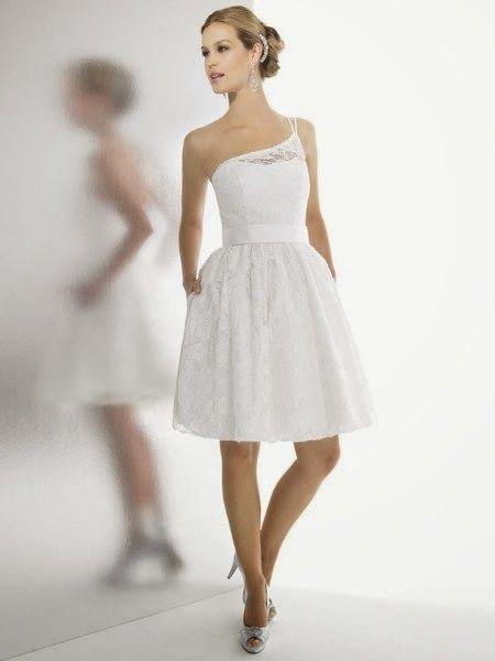 Vestidos de Novia Cortos para Boda Civil | Vestidos | Pinterest ...