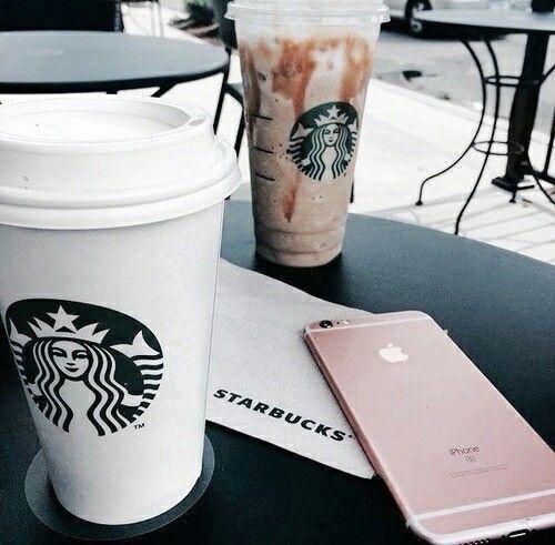 Pin by 𝓀𝒾𝓁𝑒𝓎 on ‧͙⁺˚*・゚coffee | Starbucks drinks ...