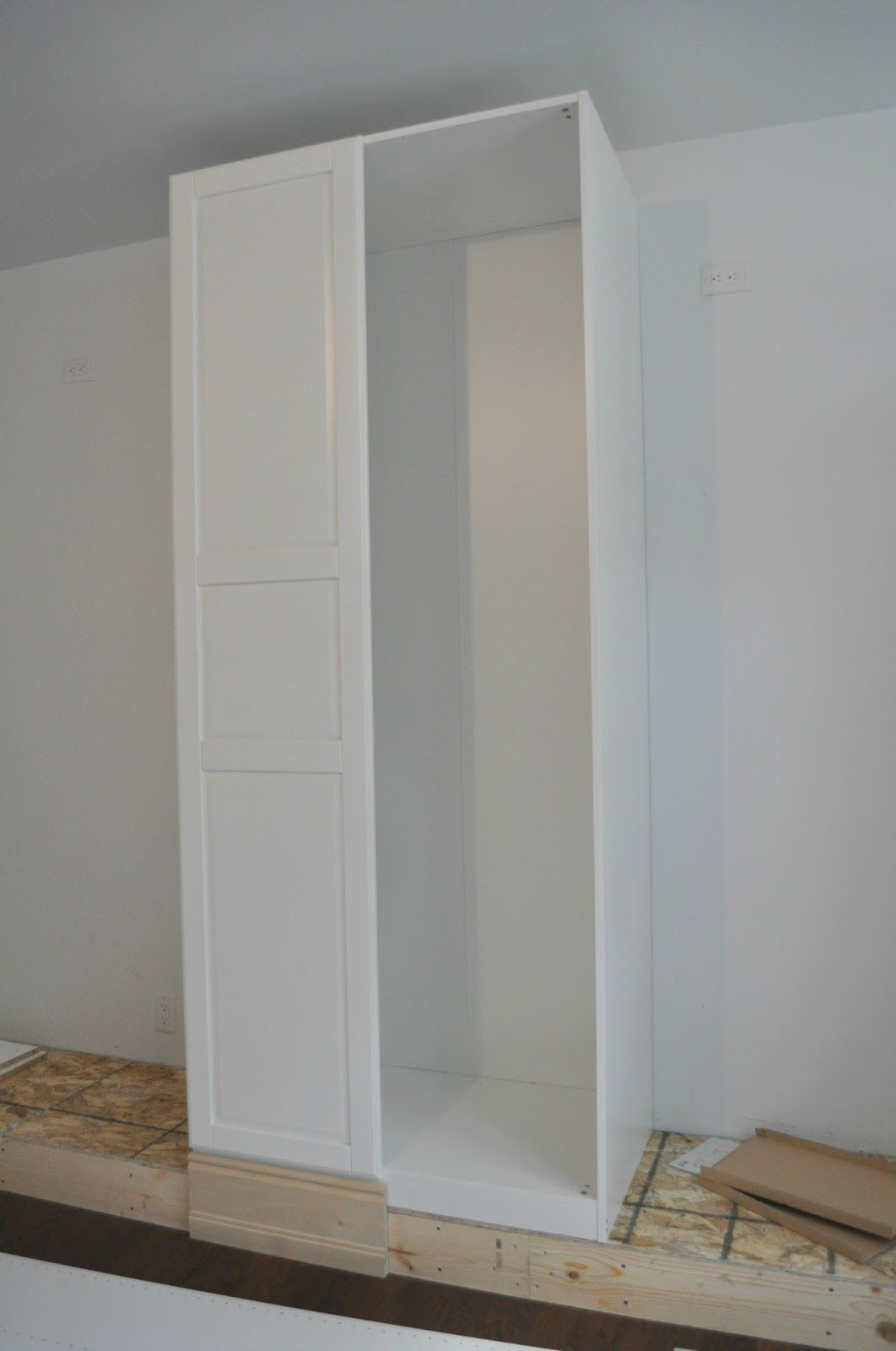 Getting A Customized Look With Ikea Pax Wardrobes Bedroom Updates Loznice Satnik