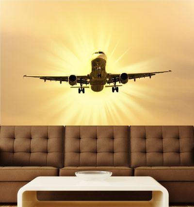Fantasy Deco Vinilos Decorativos Aviones Decoración De Aviación Decoracion De Pared Aviones