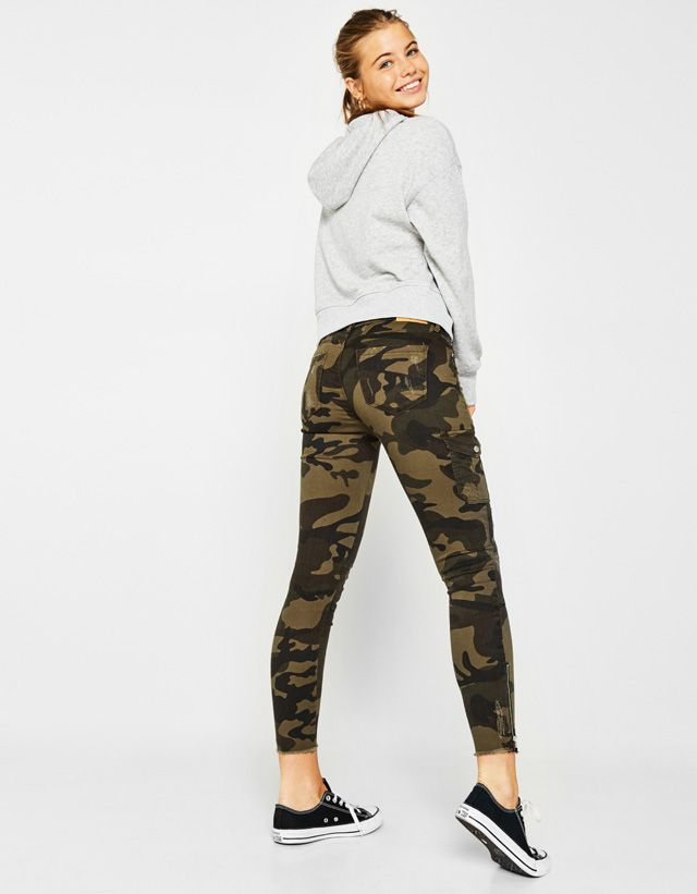 f39cb5ff45 Trousers - CLOTHING - WOMAN - Bershka United Arab Emirates | Fashion ...