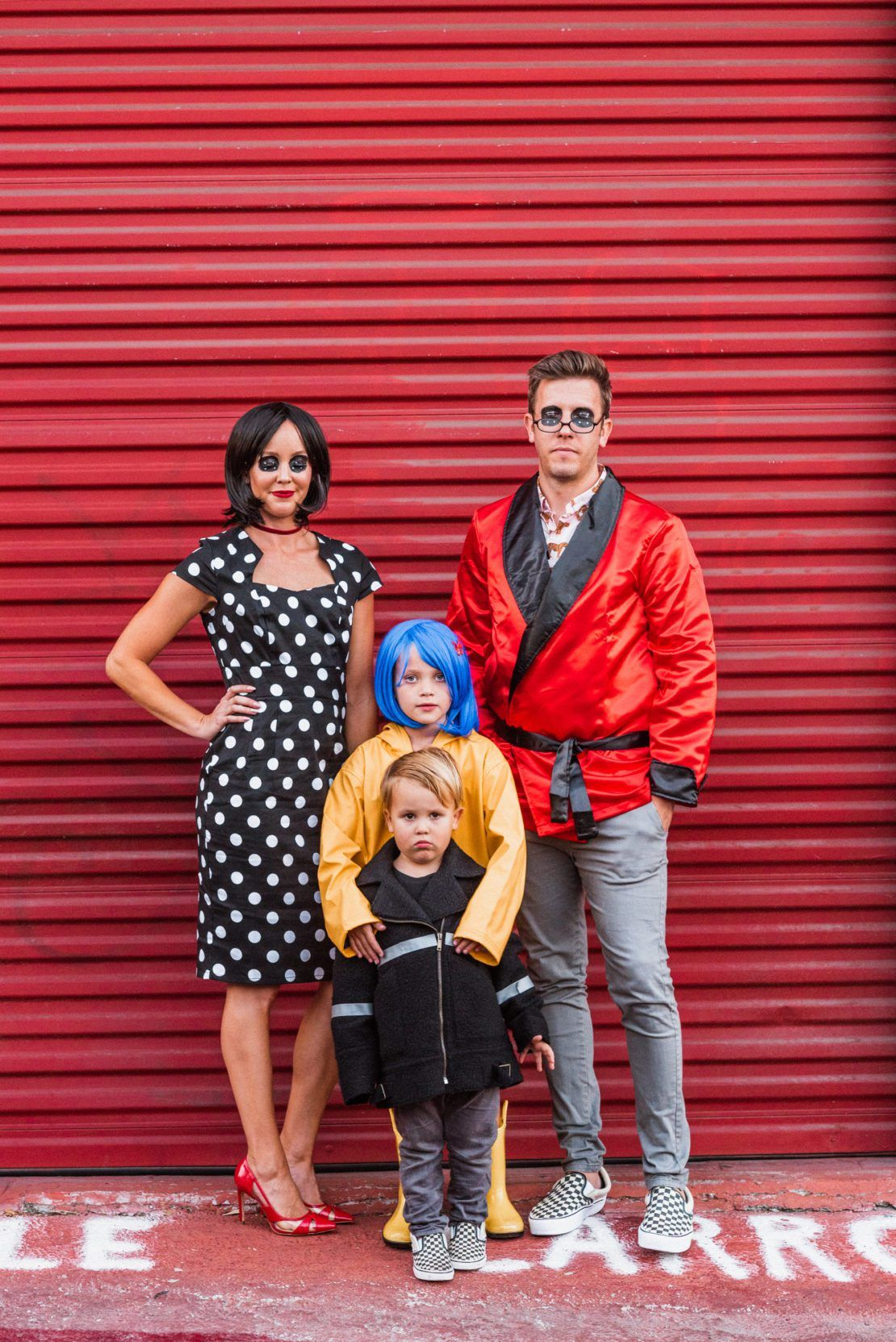 Family Halloween Costumes Coraline Bethanimalprint Coraline Halloween Costume Family Halloween Costumes Family Halloween