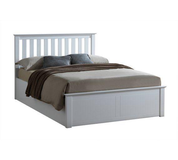 Best Buy Birlea Phoenix White Double Ottoman Bed Frame Bed 400 x 300