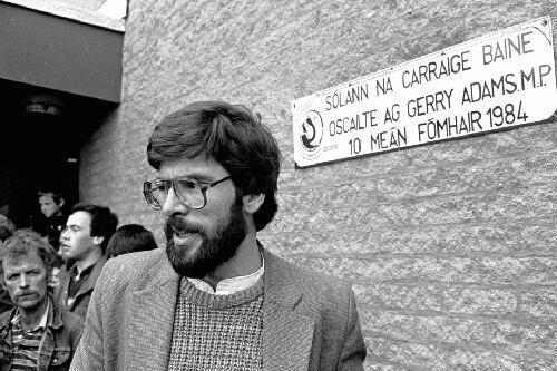 La detención de Gerry Adams reaviva los fantasmas del conflicto norirlandés