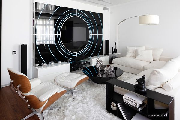 Living Room 3 Follow Me On Pinterest Suzi M Interior Decorator Mpls Mn The Tv Is Black And White Living Room White Living Room Colors Black Living Room