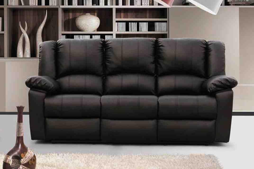 3 Seater Leather Recliner Sofa 3 Seater Leather Sofa Sofa Reclining Sofa