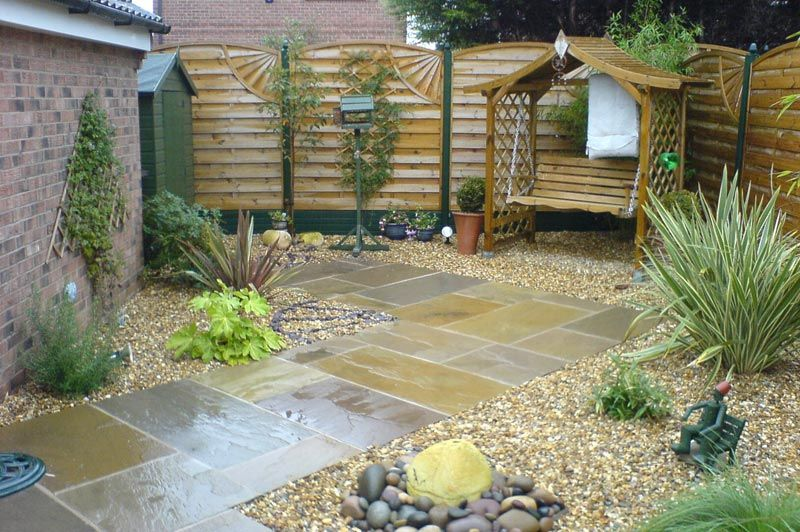 Low maintenance garden google search garden ideas for Simple low maintenance gardens