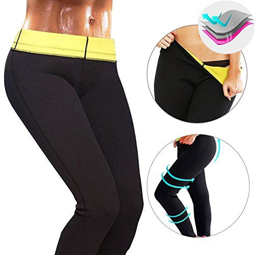 dae971db6dc6f CROSS1946 Women s Slimming Long Pants leggings Yoga Hot Thermo Neoprene  Sweat Sauna Body Shapers for Weight Loss L   Yoga Workout