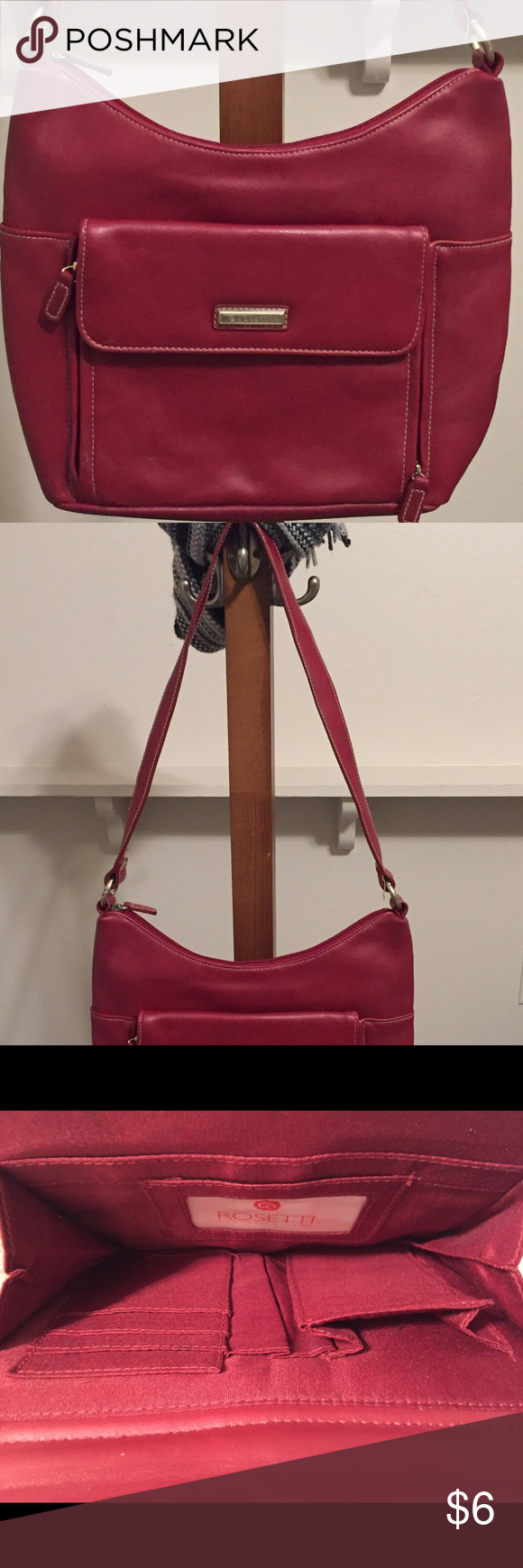 NWOT Rosetti Crossbody Purse w/ lots of room etc. NWOT Rosetti Crossbody Purse with several compartments and space for whatever Rosetti Bags Crossbody Bags