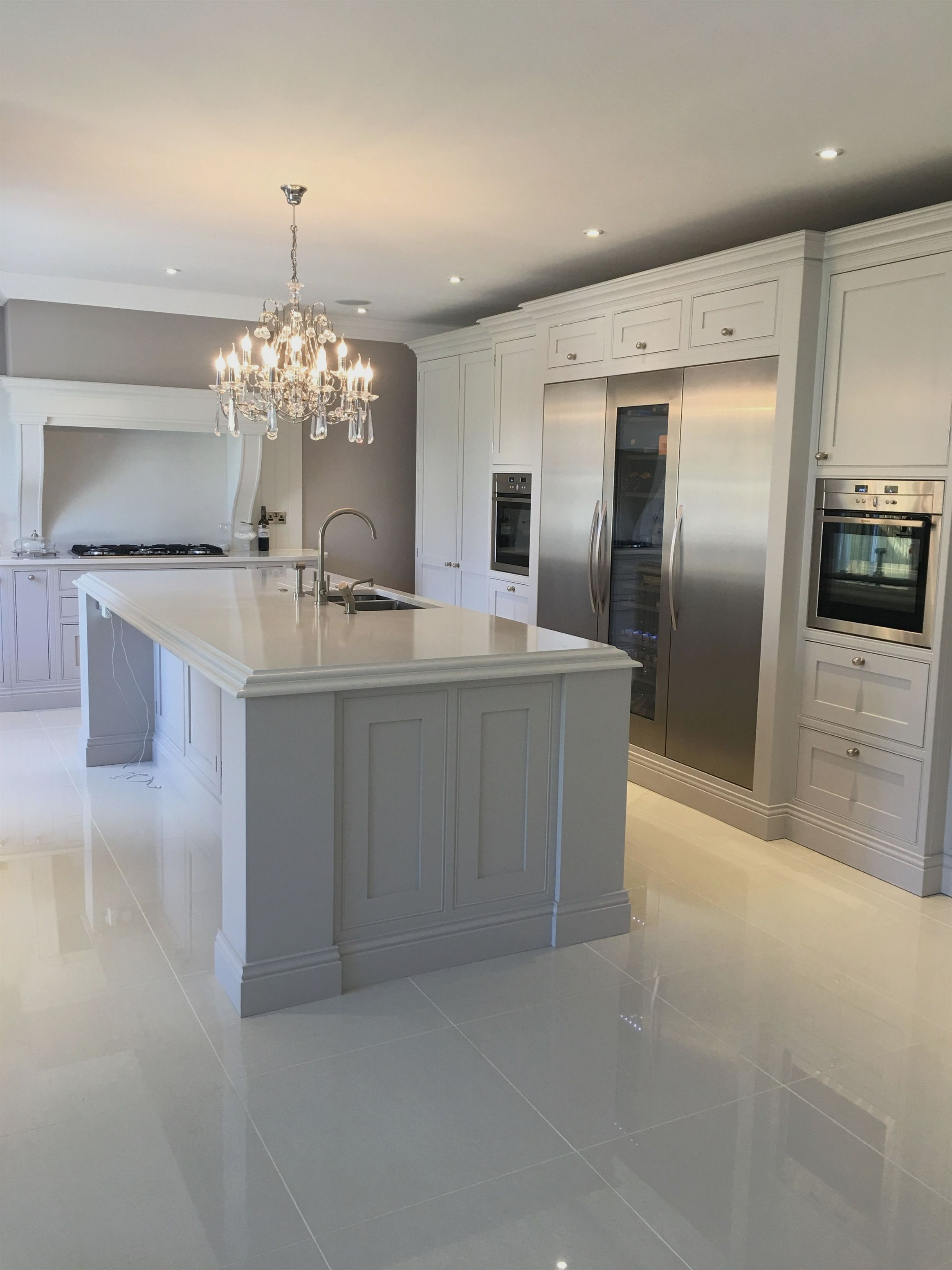 Best This Kitchens Furniture Has Been Painted Using Farrow And 640 x 480