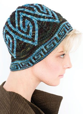 28 Double Knit Beanie Colorful Knitting Pinterest