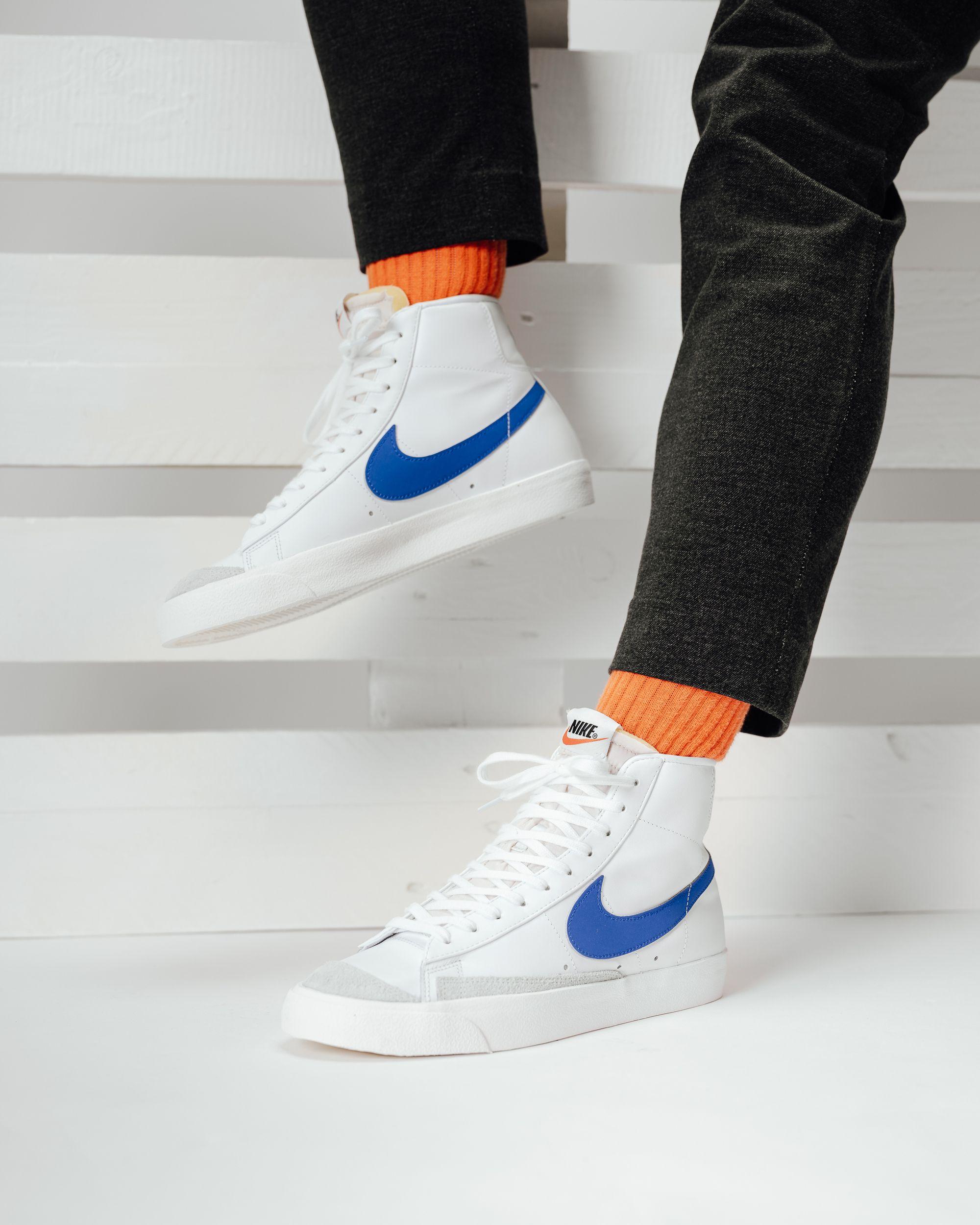 Nike Blazer Mid 77 Vntg Blue In 2020 Nike Blazers Outfit Nike Blazer Mens Nike Shoes