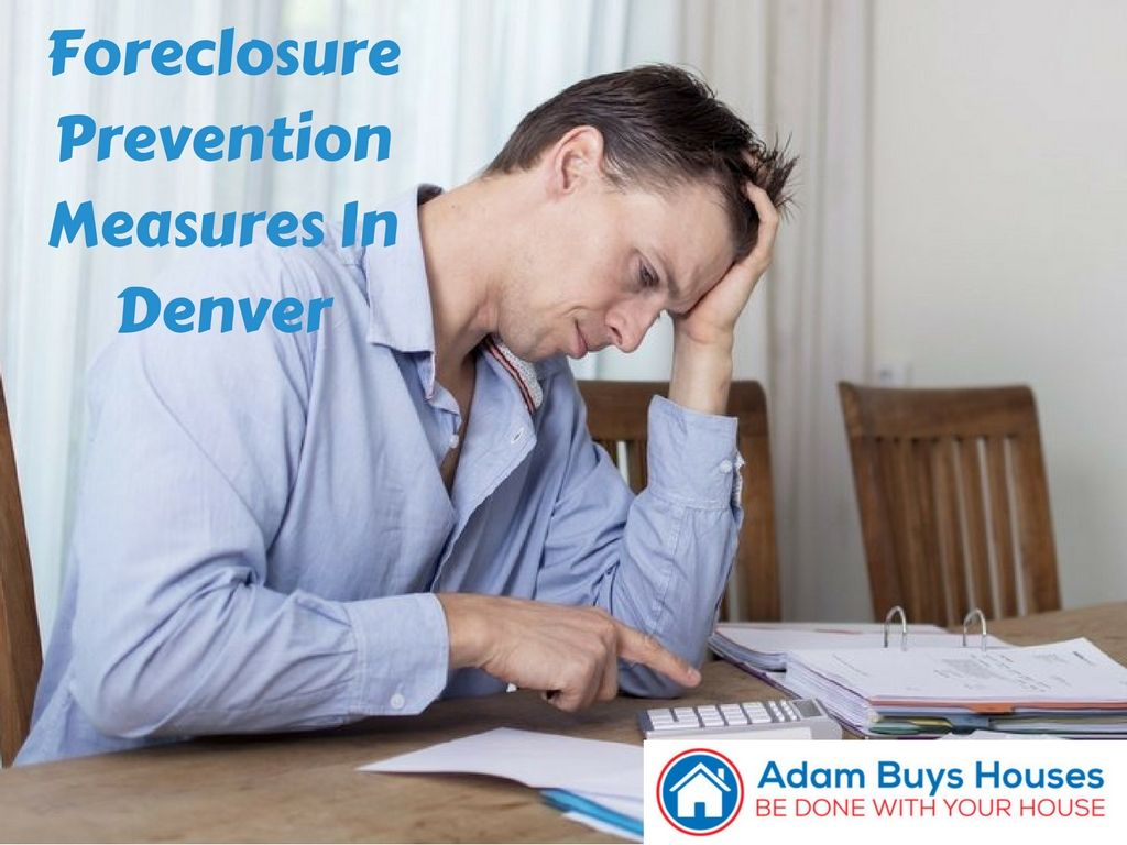 Foreclosure prevention action steps in denver co stock
