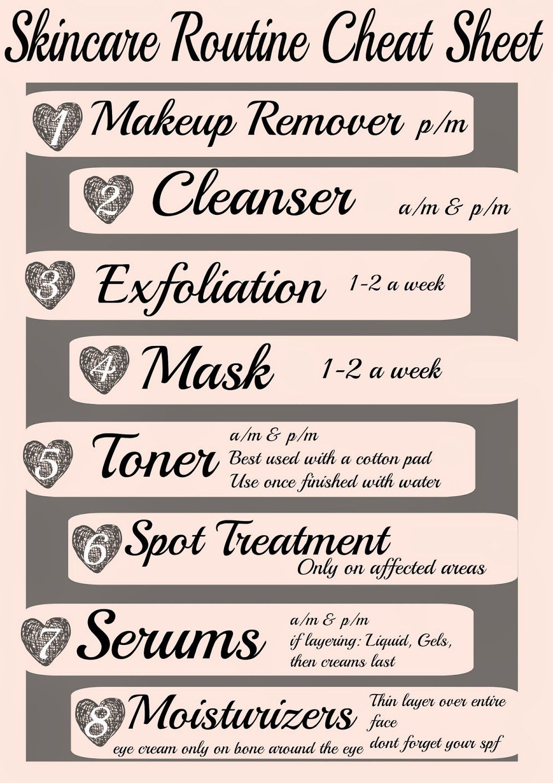 This Should Be Your Basic Skin Care Regimen Daily Weekly To Keep Your Skin Looking Fresh New And Feeling At Its B Skin Care Serum Skin Care Skin Care Routine