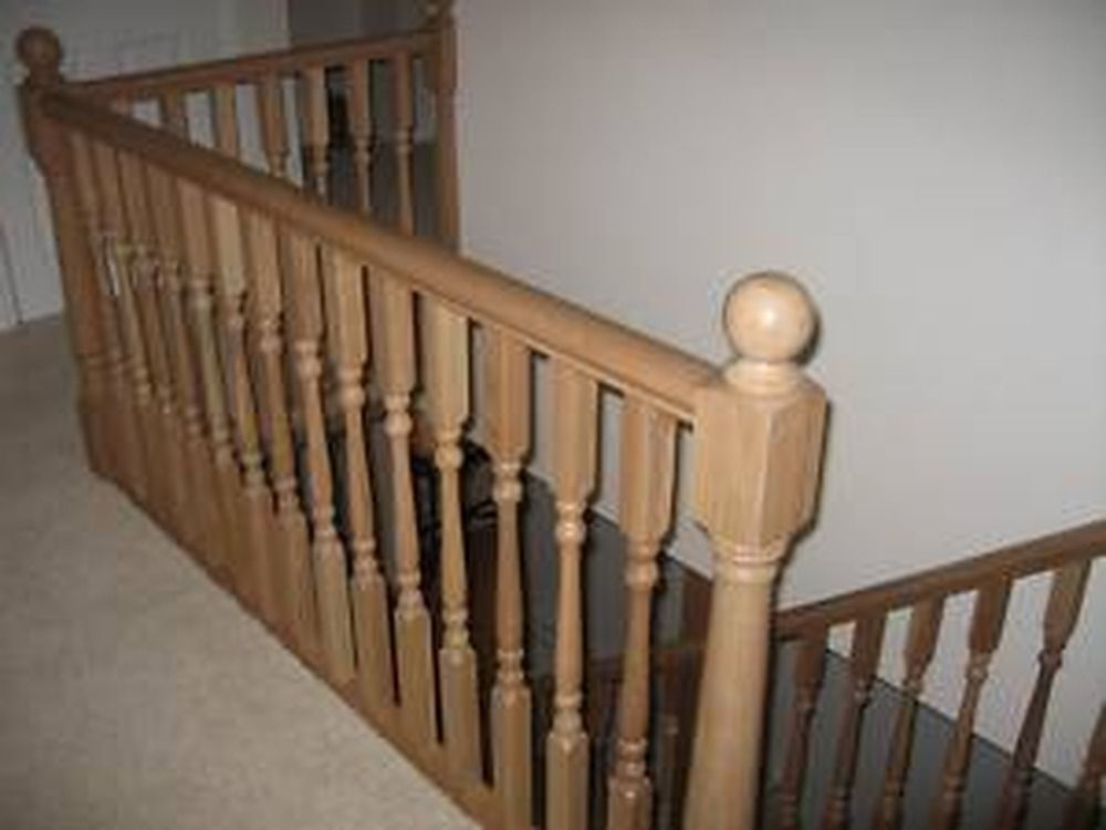 Pin By Mountain Laurel Handrails On Interior Railing Banisters Interior Railings Wood Railing