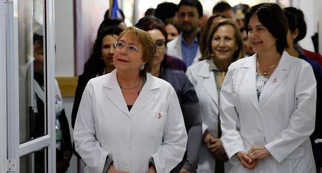 El último tongo de Bachelet Inauguró centro médico en Ñuñoa sin permisos de Seremi de Salud - El Muro