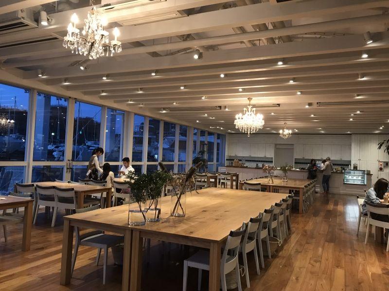逗子マリーナ レストラン ロンハーマン 2020 カフェ内装 ロンハーマン 内装