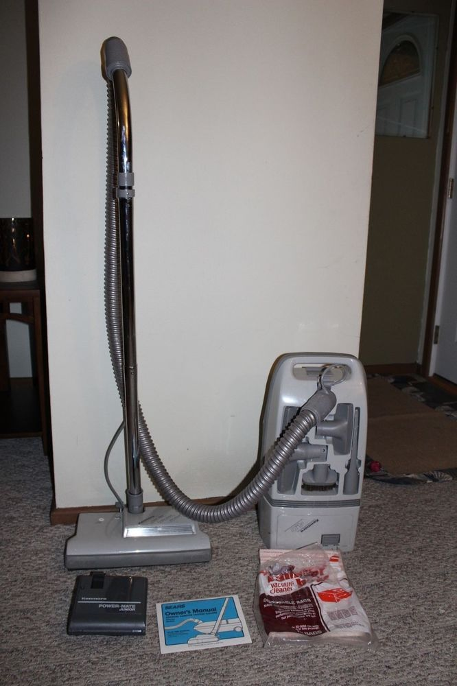 vintage sears kenmore canister vacuum cleaner 10 amp with power mate rh pinterest com Kenmore Power Mate Cannister kenmore power mate manual