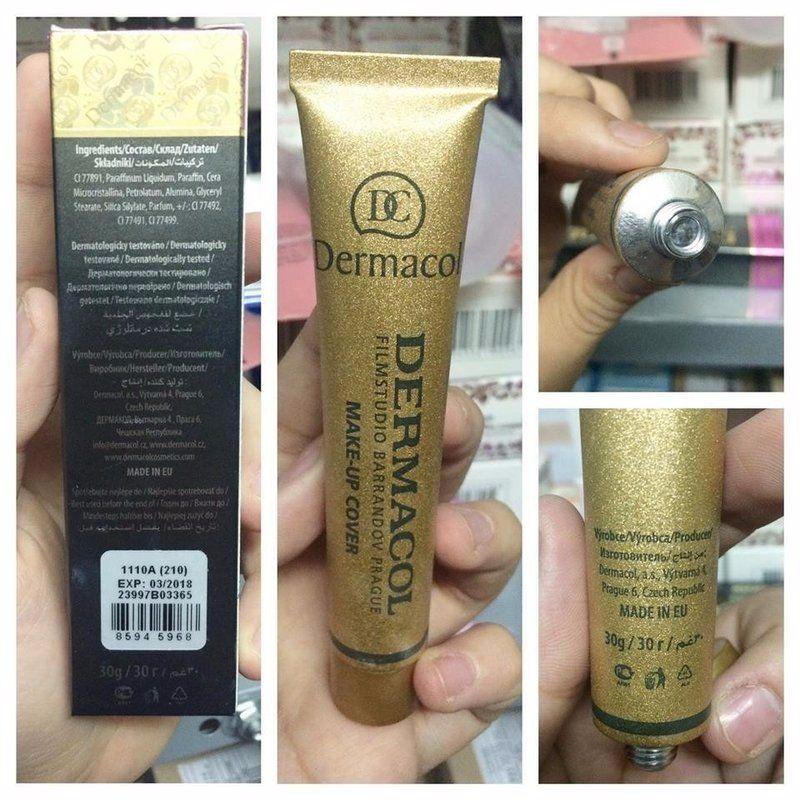 Dermacol Foundation Makeup base, Concealer, Makeup