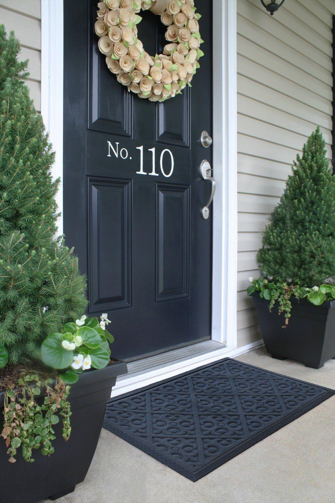 Amazon.com : Alpine Neighbor Door Mat   Washable Indoor/Outdoor Low Profile  Doormat