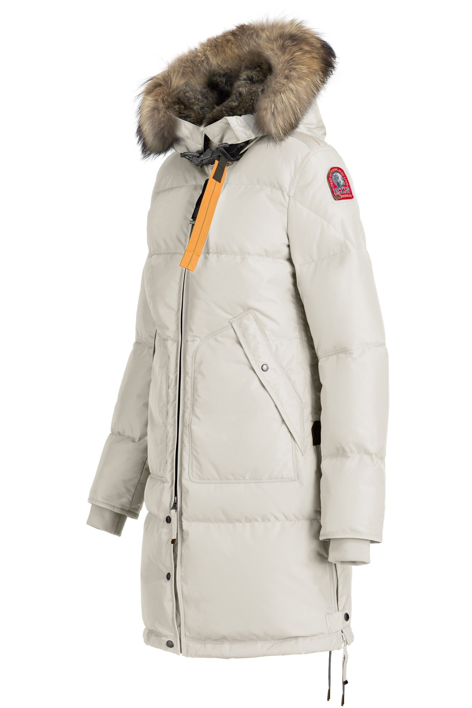 White Long Bear Lapin Fur-W For Woman: Parajumpers ® Parkas $1100