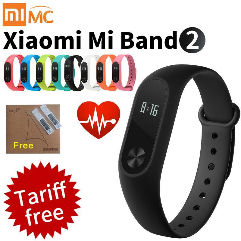 Original Xiaomi Mi Band 2 Smart Fitness Bracelet Watch Wristband Miband Oled Touchpad Sleep Monitor Heart Rate Mi Band2 F Fitness Bracelet Xiaomi The Originals