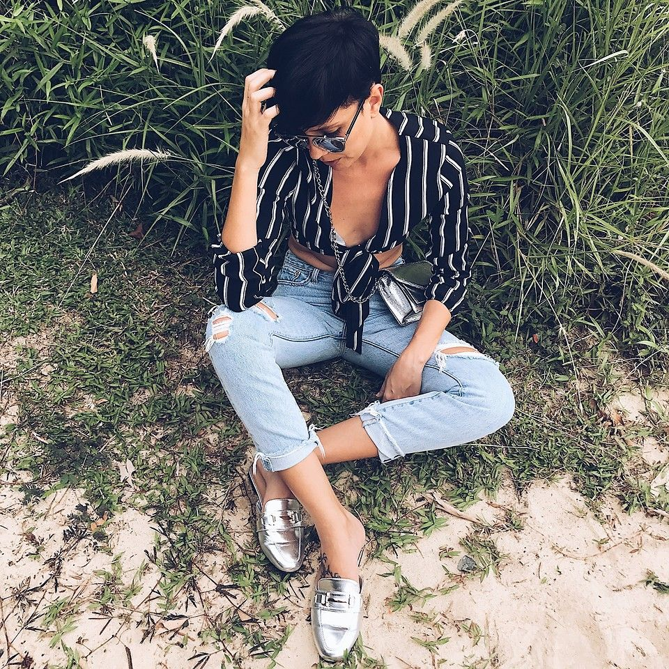 At the wildlife casual look ootd fashion bloggers wildlife