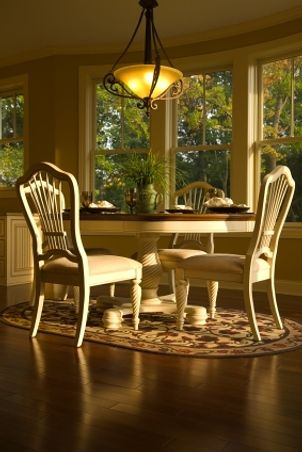 Find This Pin And More On Dining Room Ideas. Hamshire Round Dining Table ...