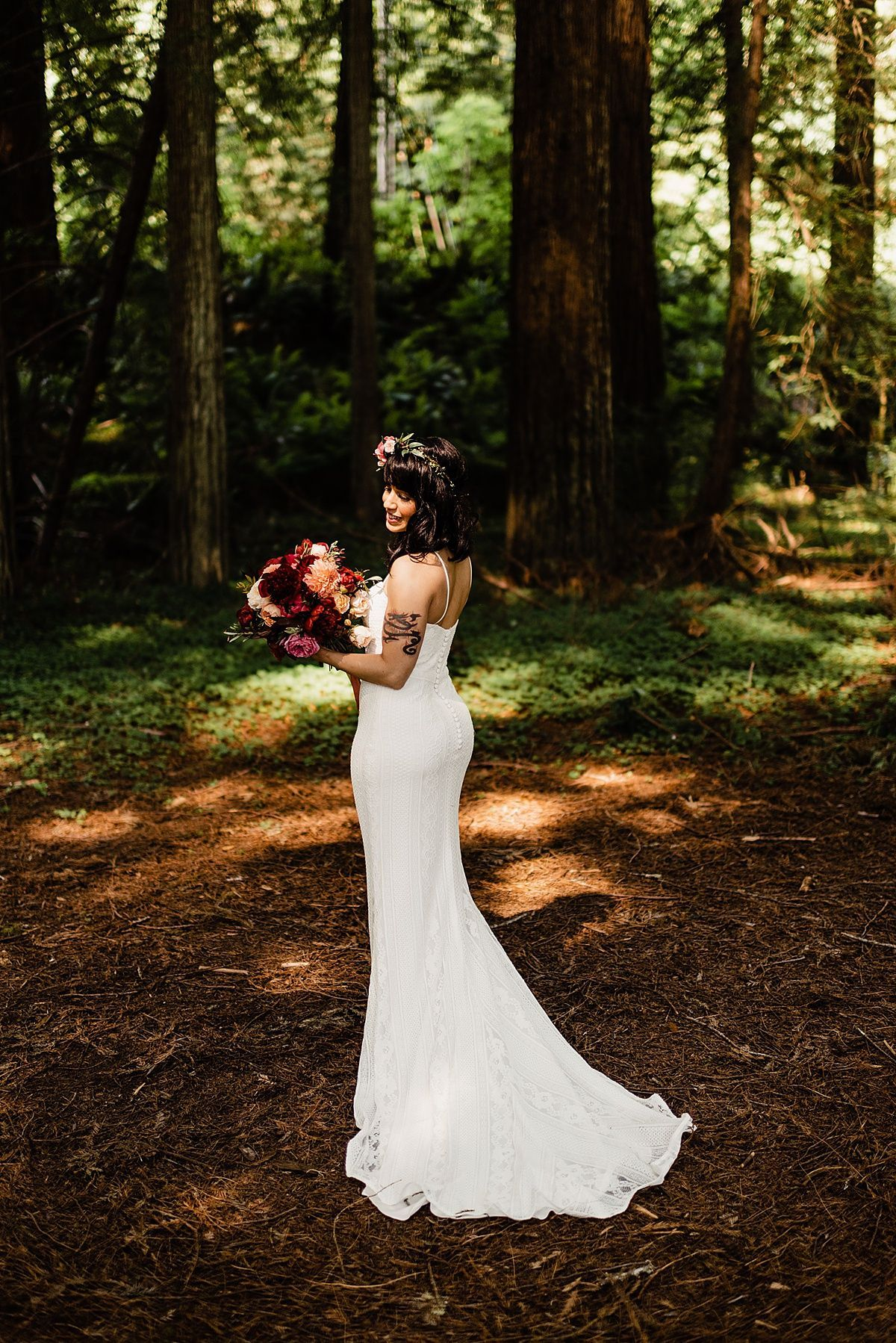 redwood forest wedding elopement packages