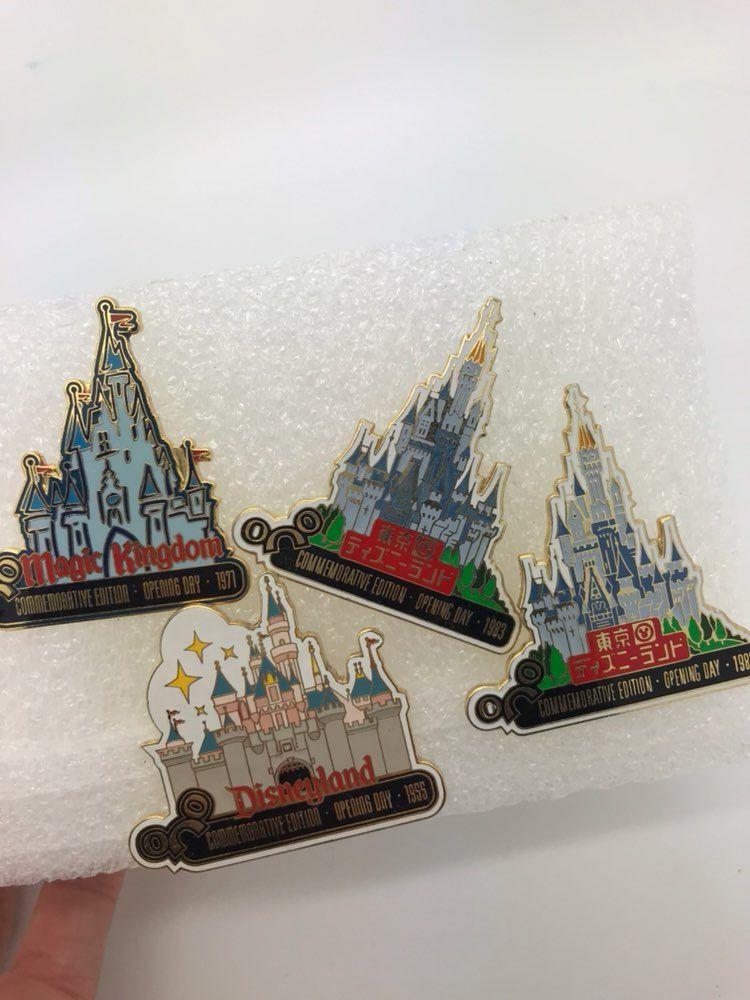 Vintage Disney Pins Castle Disney Pins   Vintage disney ...